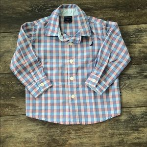 Baby Boys Button Up Top